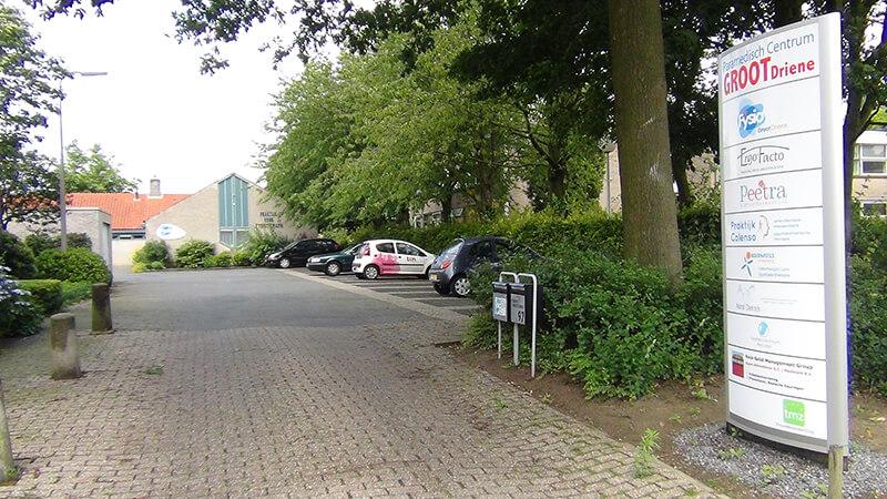 Parkeerplaats Praktijk Colenso